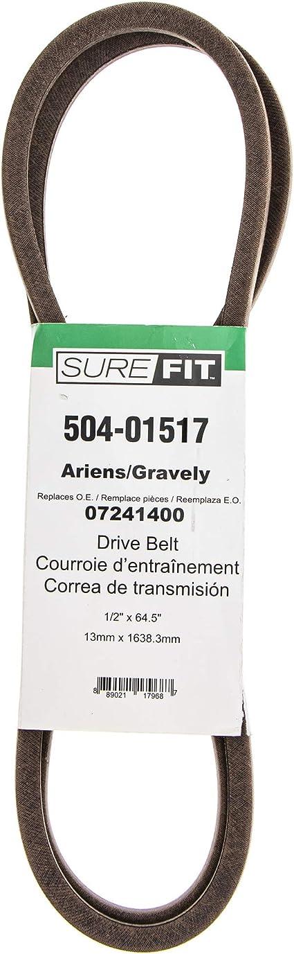 SureFit Transaxle Drive Belt 07230700 Ariens EZR 1440 1540 1640 1648 915001 2PK