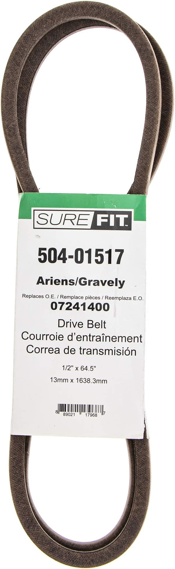 ARIENS GRAVELY 38744 Replacement Belt 1//2x92