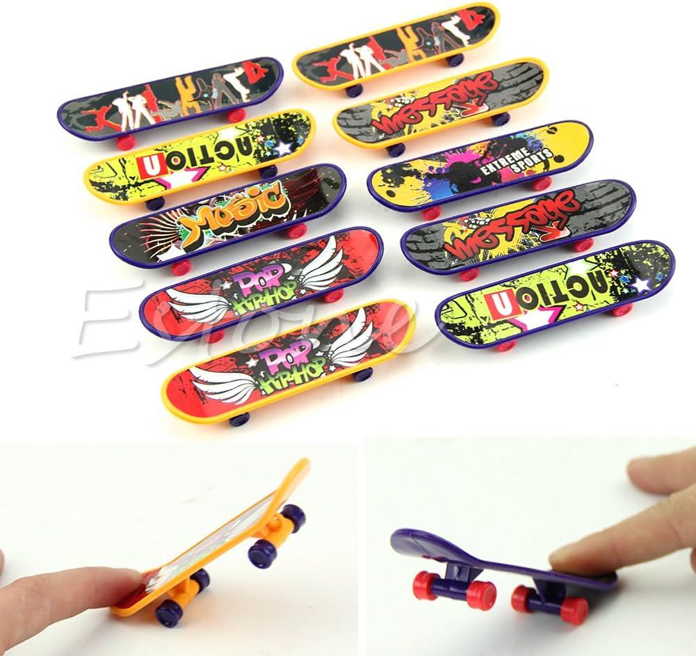 Cansenty Mini-Finger-Board Tech Deck Truck Mini-Skateboard Spielzeug Junge Kinder Geschenk