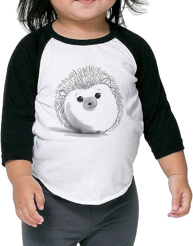 JH SPEED Unisex Child Lovely Hedgehog 3//4 Sleeve Raglan Baseball T-Shirt