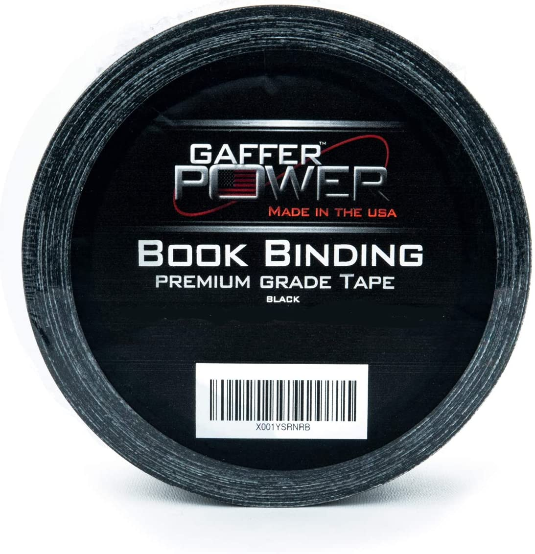 "2/"" X 15 Yds Bookbinding Tape by Gaffer Power White Cloth Book Repair Tape"