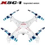 RC Quadcopter, Potensic Upgraded X5C-1 Syma Explorer 2.4GHz 6 Axis Gyro 4CH RC Drone with 2 Megapixels Camera