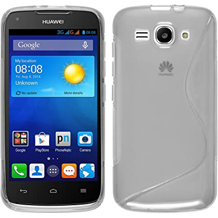 Amazon.com: Funda de silicona para Huawei Ascend Y520 – S ...