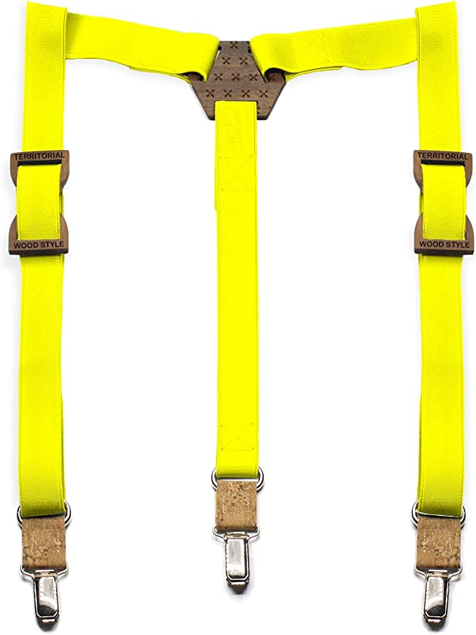 Tirantes de madera Arrows. Colección de moda hombre: Pasadores de ...