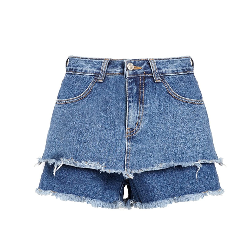 Women Pockets Button Taste Of Fashion Shorts New Fashion Casual Ladies Jeans Shorts