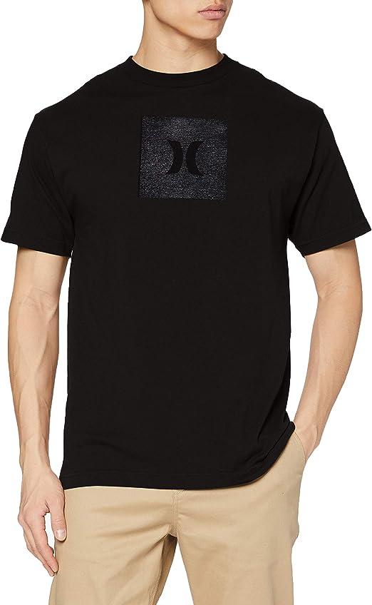 TALLA S. Hurley M Core Icon Box Texture S/S T-Shirt Hombre