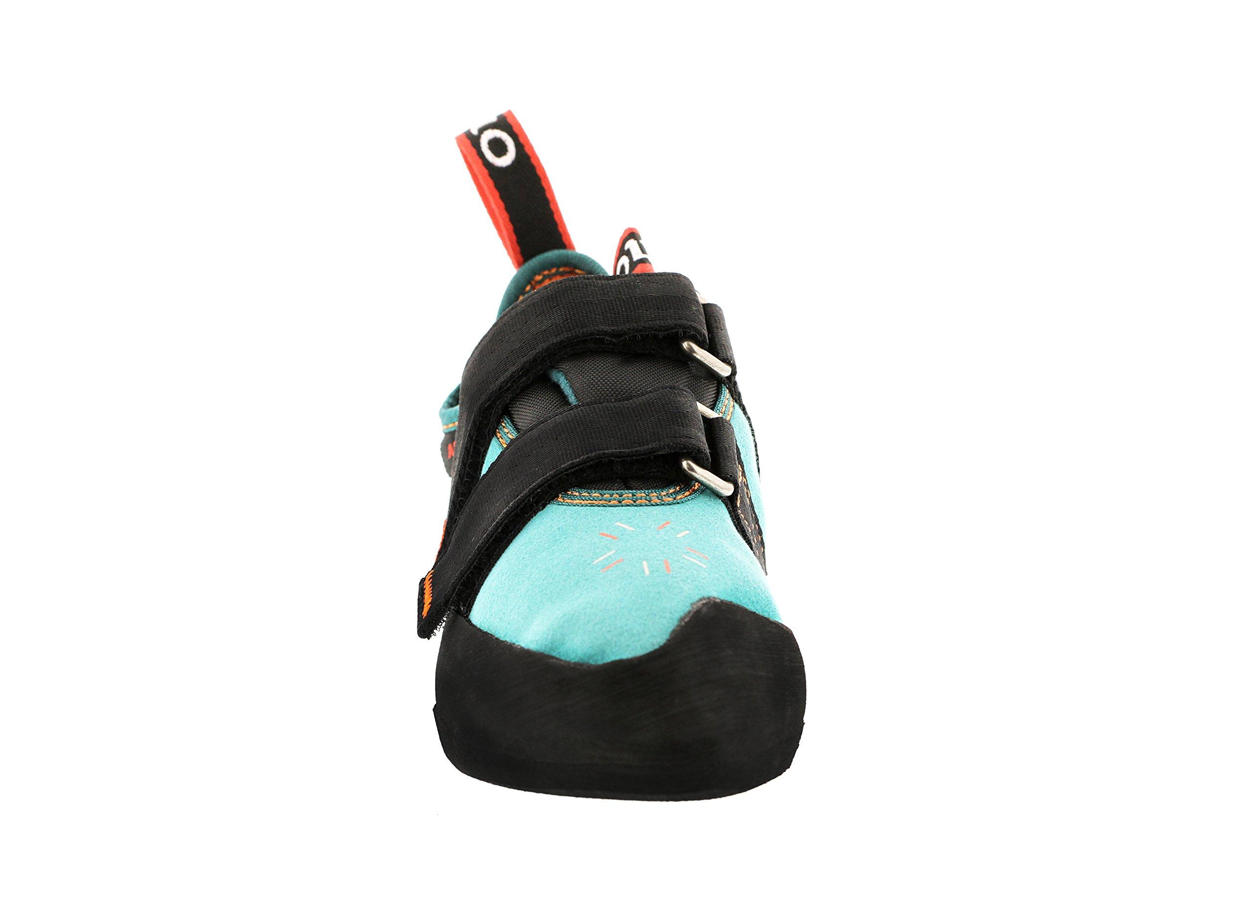 Five Ten Women's Anasazi LV Climbing Shoe,Teal,4 M US