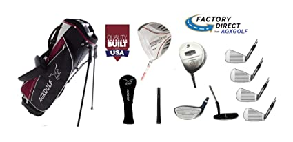 deaf36c47b0e Amazon.com : AGXGOLF: Men's Left Hand Exec Edition Golf Club Set; w ...