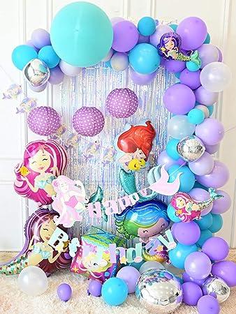 Amazon.com: GE&YOBBY globos de cumpleaños de dibujos ...