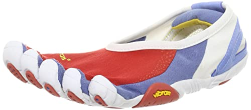 detailed look f3f63 27d99 Vibram FiveFingers Womens Jaya White Red Blue 40