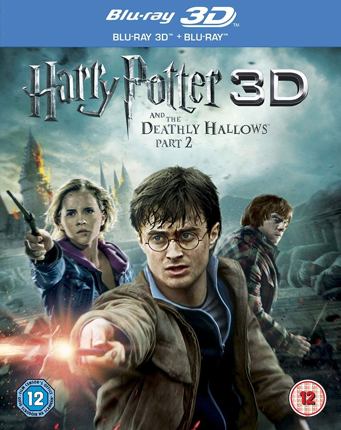 Harry Potter And The Deathly Hallows Part 2 3D Edizione: Regno ...