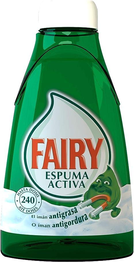 Fairy Espuma activa líquido lavavajillas recambio para dosificador ...