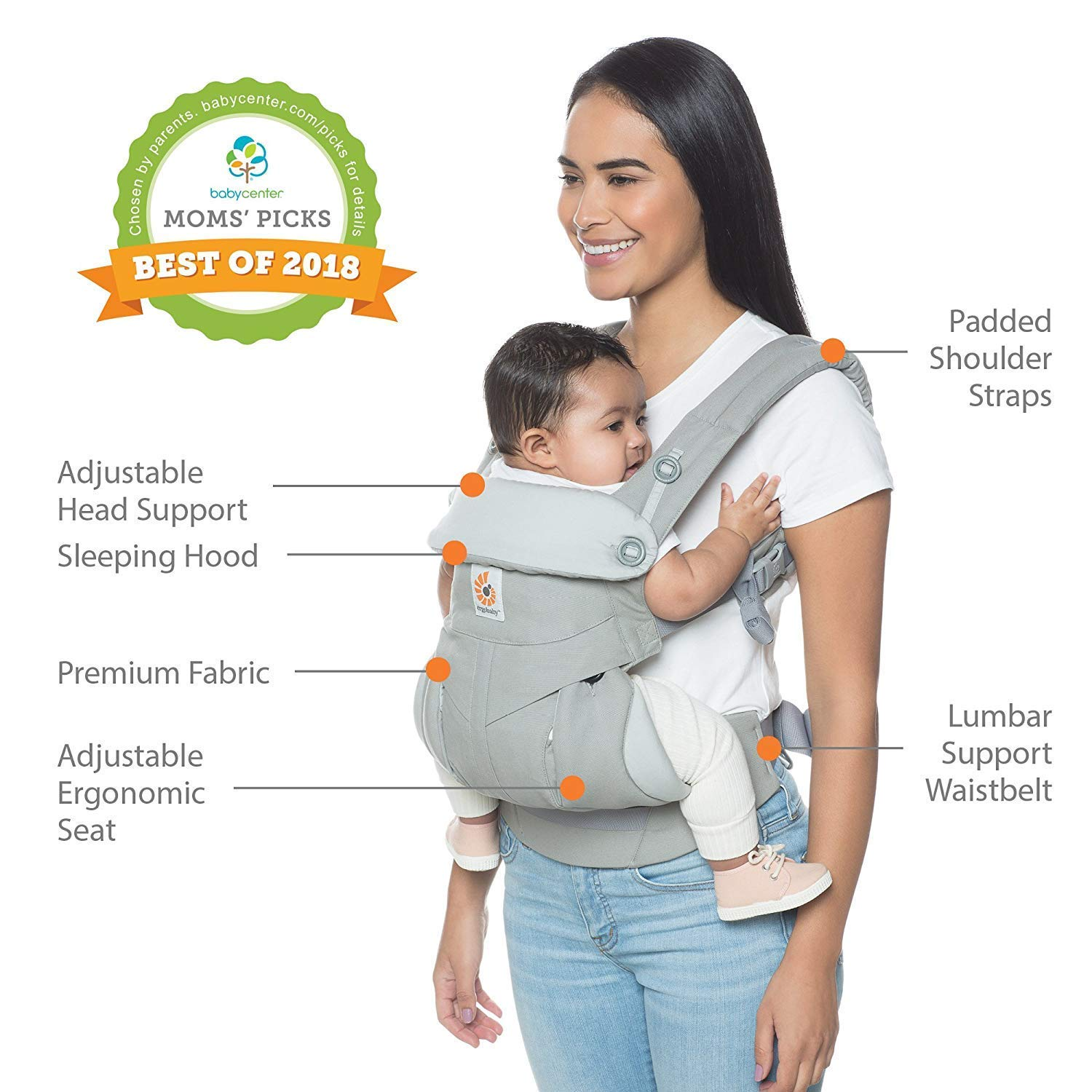 What is the best baby carrier for back pain