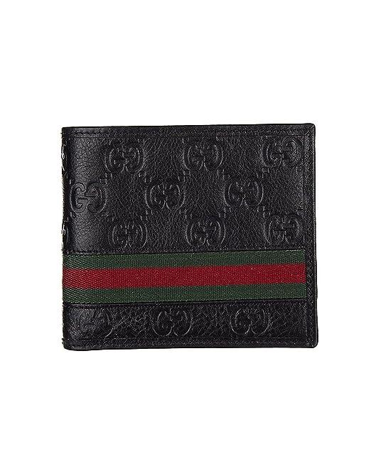 Gucci Billetera de cuero para hombre GUCCISSIMA MARGAUX: Amazon.es: Ropa y accesorios