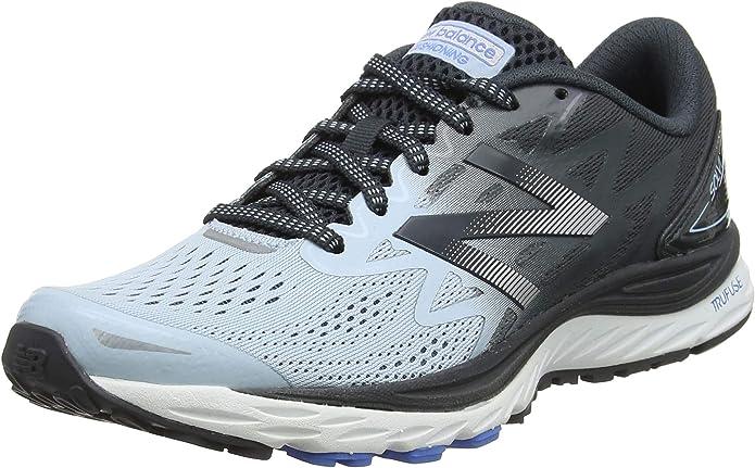 New Balance Solvi Sneakers Laufschuhe Damen Grau/Korall (hellblau)