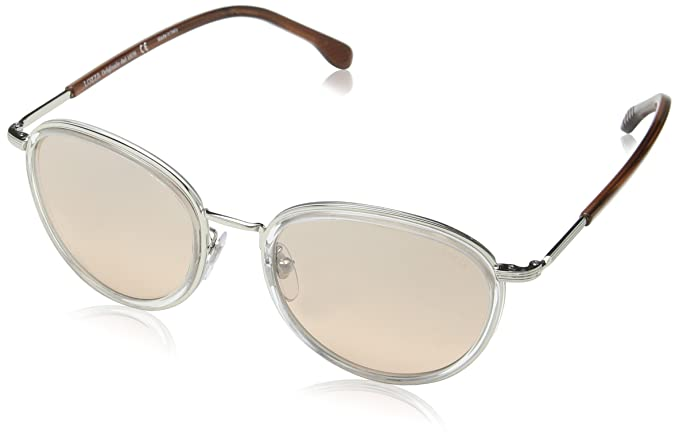 Lozza SL2254M-gafas de sol Mujer Rosa Rosa (SHINY PALLADIUM ...