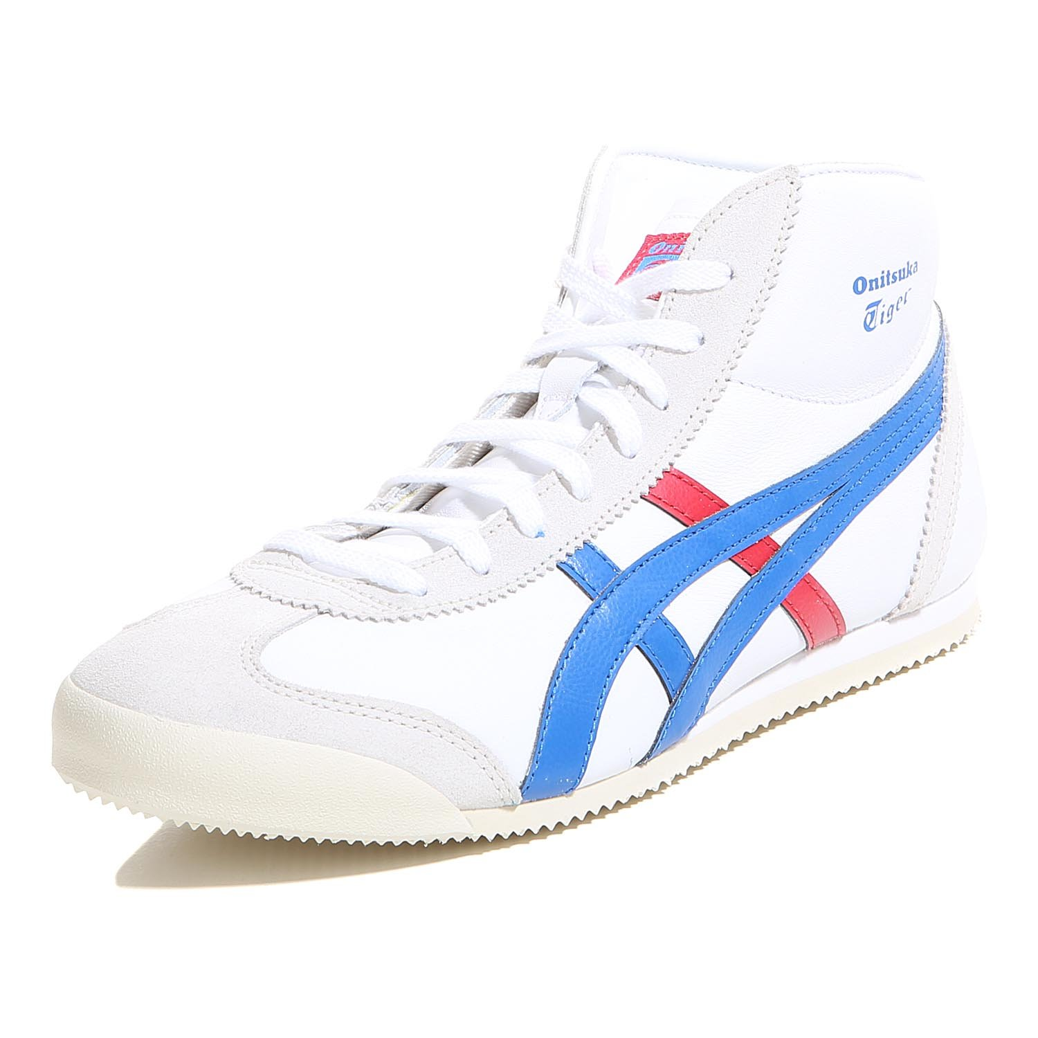 fb8fab2dfa8 Onitsuka Tiger Mexico Mid Runner Sneaker White   D  Amazon.co.uk  Shoes    Bags