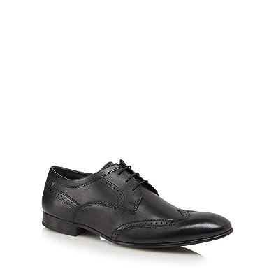 Cheap Footaction Cheap Sale 2018 Unisex Purcell Leather Brogue Shoes - Black Base London 100% Authentic Sneakernews KZAU4