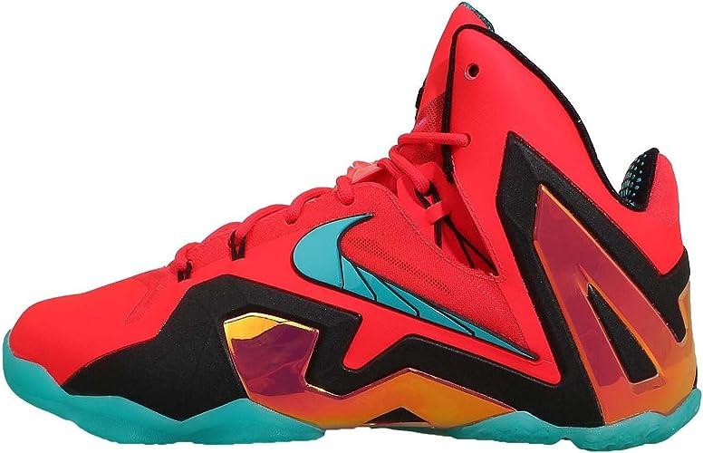 Nike Lebron XI Elite - Zapatillas para Hombre Gris Wolf Grey/Laser ...