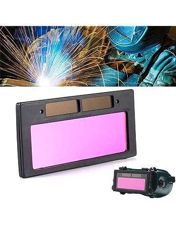 Lente de soldadura fotoeléctrica de cristal líquido para apertura de ventana, filtro de lente de