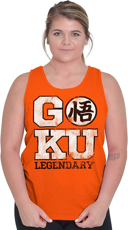 Goku Legendary Alien Ninja Warrior - Camiseta sin Mangas - Naranja - Large: Amazon.es: Ropa y accesorios