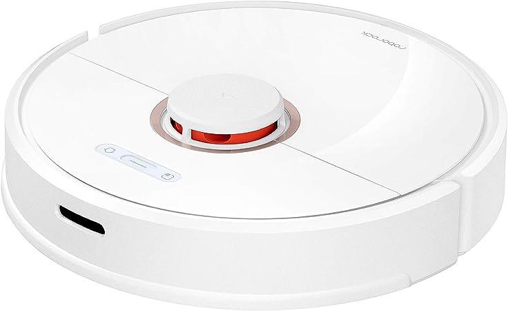 Roborock S6 - Robot aspirador 2 en 1 (aspira y friega), con mapeo y app., batería hasta 3 horas, navegación inteligente con laser de alta precisión y procesador 4 núcleos, color blanco: Amazon.es: Hogar