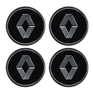 Emblema de aleación para los tapacubos de las ruedas con el logotipo de Renault, 4 unidades: Amazon.es: Coche y moto