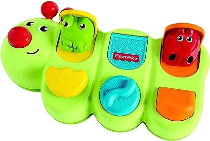 Amazon Com Fisher Price Caterpillar Pop Up Toys Games