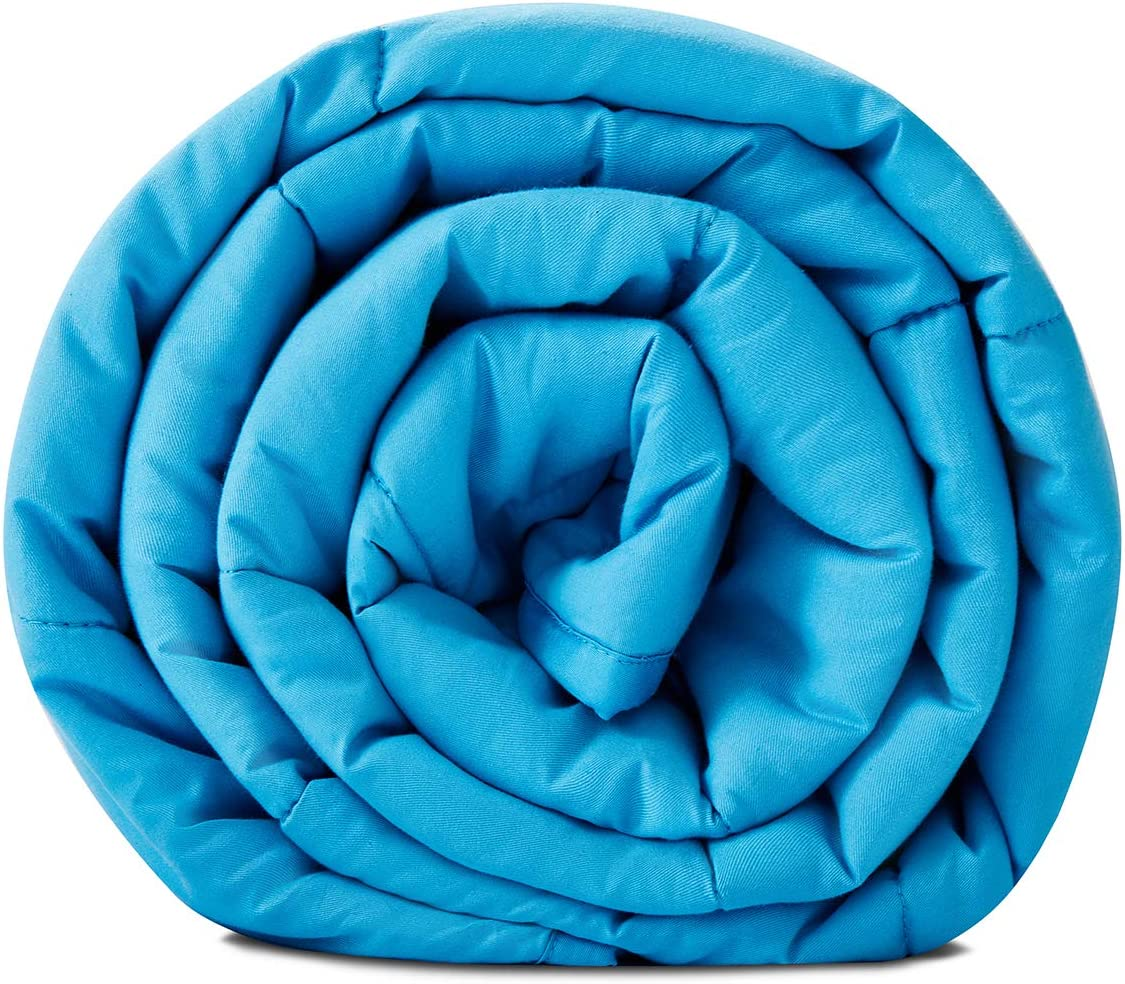 Teal Heavenly Bubble Throw