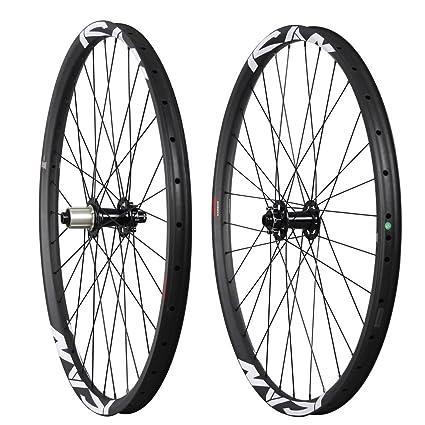 Ican 29 pulgadas carbon Rueda de bicicleta alambre Neumáticos Manguera los clincher Llanta para MTB Mountain