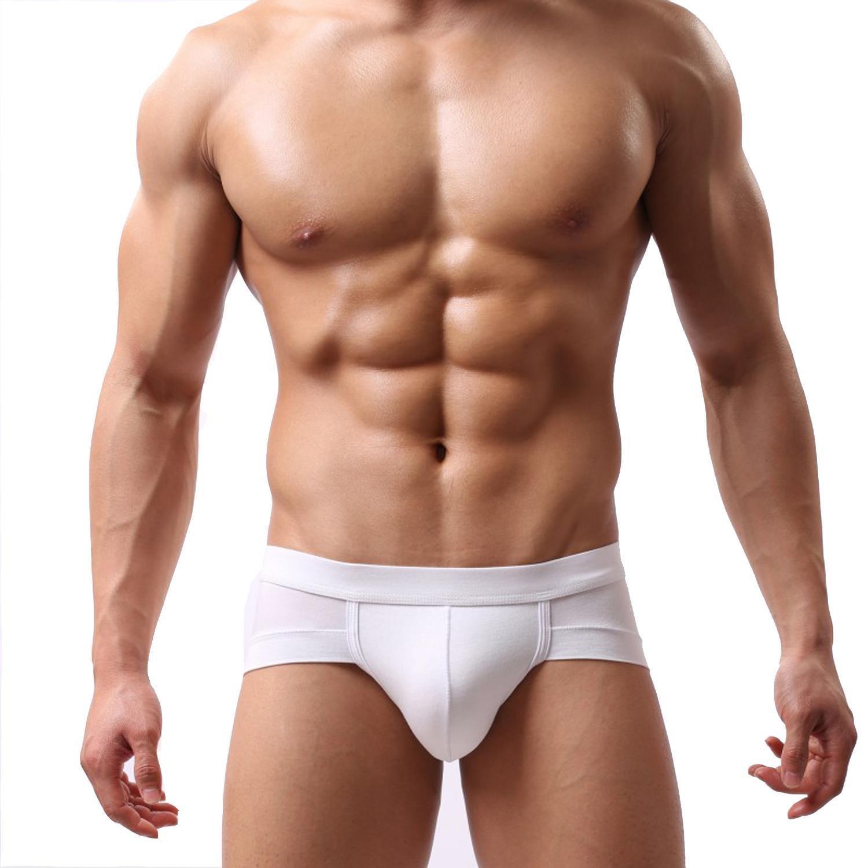 Hindom Men's See-Through Underwear Boxer Briefs Soft Mesh Underpants