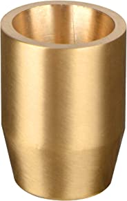 METERIO Candle Holder, Solid Brass Made, 1.2