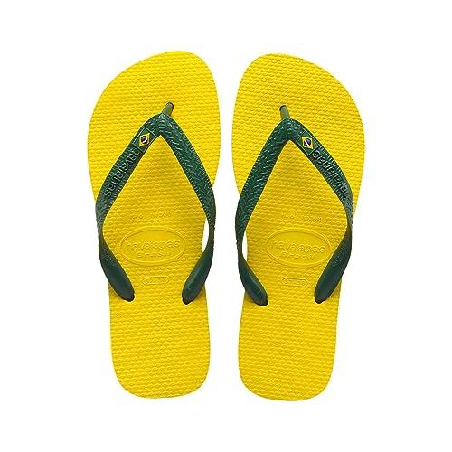 Havaianas Brasillogo Unisex Yellow Gomma Sandali infradito 4344