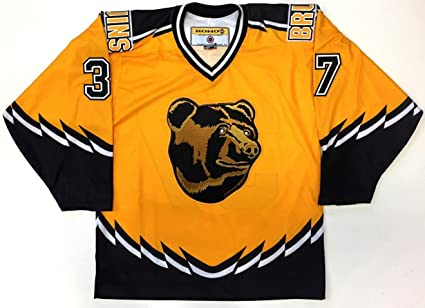 5f8c1c74665 Image Unavailable. Image not available for. Color: Patrice Bergeron Boston  Bruins Koho Rookie Year 3rd Jersey Medium Pooh Bear ...