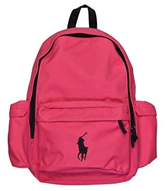 fd9457935566 POLO Ralph Lauren Big Pony Backpack School Bag Knapsack  Amazon.co.uk   Clothing