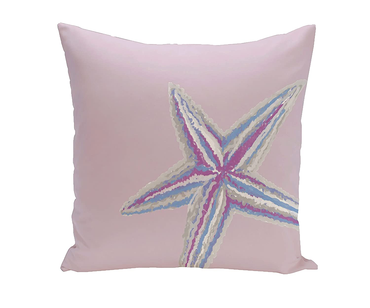 Heritage Lace Sea Star Indigo Shells 18 X 18 Oyster Pillow Cover
