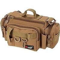 Lixada Multifunctional Fishing Bag Fishing Tackle Bag Waist Bag Bait Box Bag Boat Bag Pouch Case