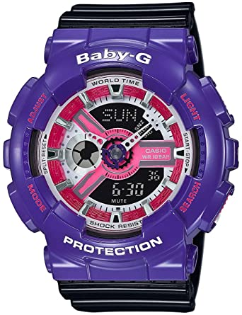 194c7e6666bd4 Image Unavailable. Image not available for. Color  G-Shock BA-110NC-6A Baby-G  Series 90 s ...