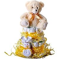 Flores AVRIL ofrece: tarta de pañales para bebé