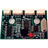 """Inteset Internal IR Receiver for Media Applications on any Motherboard. Wakes from the """"OFF"""" State(S5). Model PC-IRS5-01 with External IR Extender Kit"""