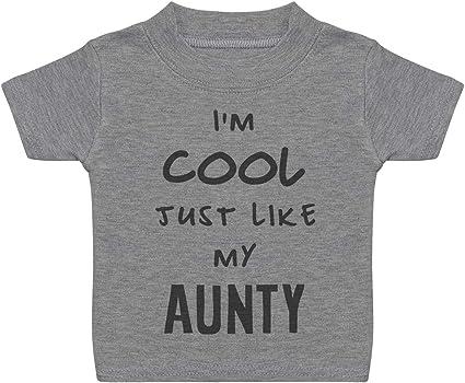 Awesome Aunty..Baby Children S//Sleeve T-Shirt Top Newborn-5-6yrs Boy Girl Gift