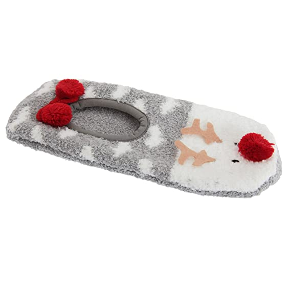 e62b0e714446 Foxbury - Zapatillas de Andar por casa con diseño de Reno para Mujer ...