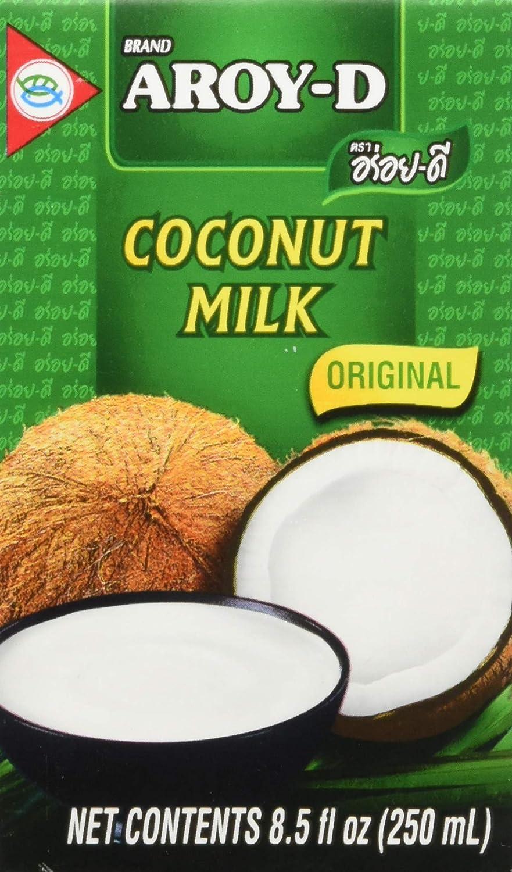 Aroy-d Coconut milch 100% Original Net 8.5 Oz.(pack of 12)