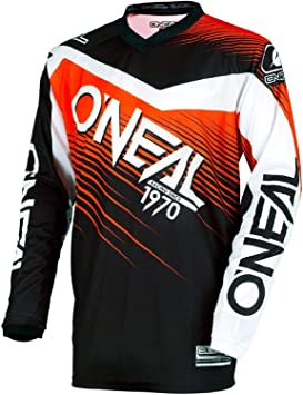 Racewear Negro 2018 Oneal Element Maillot Manga Larga Hombre