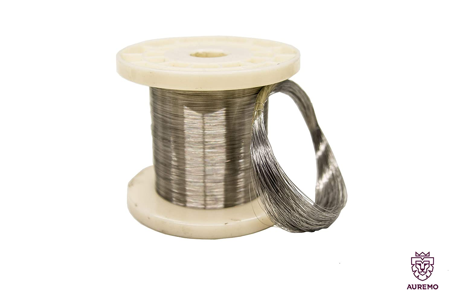 304 Stainless Steel Wire 0.1-0.75 mm Binding Wire 1.4301 Garden Wire 304 Craft Wire 5-100 Metres Aisi
