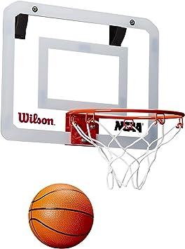 Wilson WTBA00219 Minicanasta de Baloncesto NCAA Showcase Pelota ...