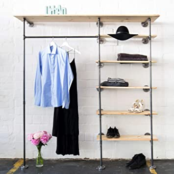 Various Kleiderschrank Im Industrial Design Kleiderstander