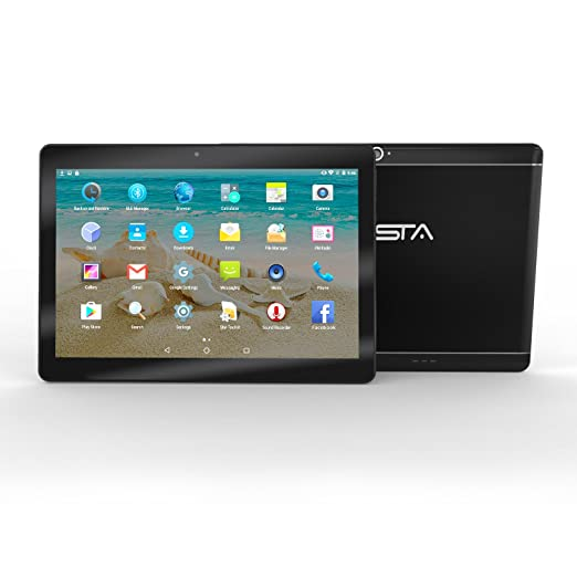 25 opinioni per BEISTA Tablet da 10 pollici (10.1) 3G Dual Sim Processore Quad Core 1,3 GHz