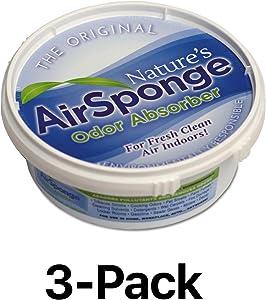 Delta Nature's Air Sponge Odor Absorber Unscented Plastic Tub 1/2 Lb.