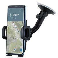 Wicked Chili Universal KFZ Halterung für 5,0 bis 6,2 Zoll Handy Galaxy S9+, S8+, S9, S8, Apple iPhone X, 8 Plus, 7 Plus, A5, J5, Honor 9, G6 Autohalterung (Breite 56-86mm, für Hülle und Case)